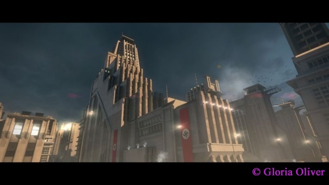 Wolfenstein The New Order - building