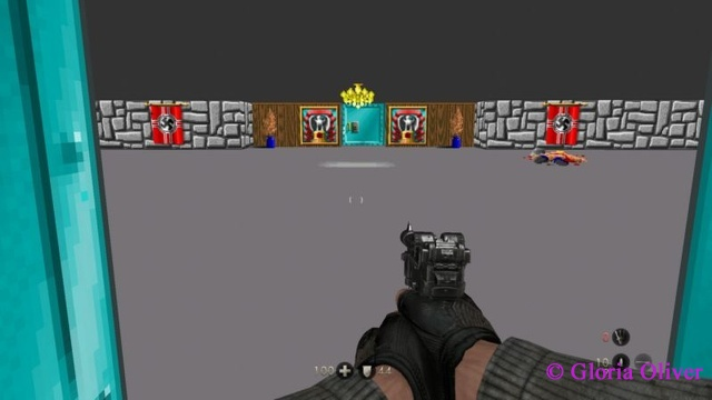 Wolfenstein The New Order - Original Wolfenstein level