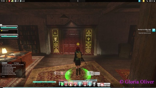 Secret World Legends - Library Door Puzzle