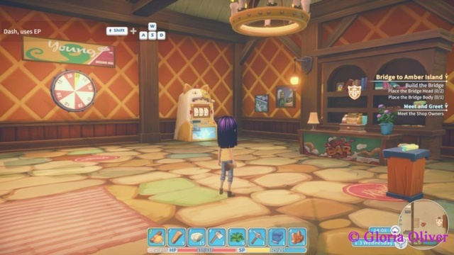 My Time at Portia - Knight game room