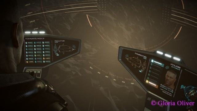 Deus Ex Mankind Divided - pilot display