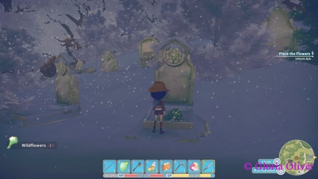 My Time at Portia - grave for dead station people