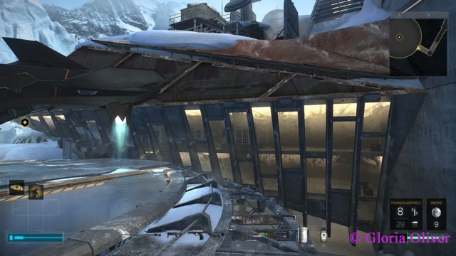 Deus Ex: Mankind Divided - Helipad view