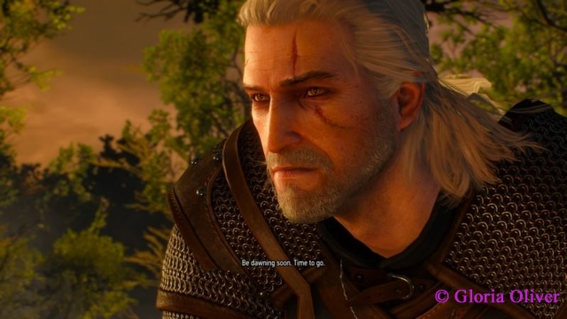 Witcher 3 - Geralt wakes from the nightmare