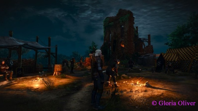 Witcher 3 - Nilfgaard  outpost in White Orchard