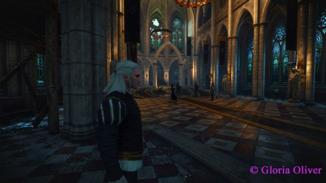 Witcher 3 - palace
