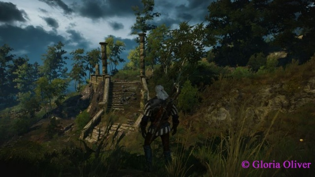 Witcher 3 - closer look at the ruins