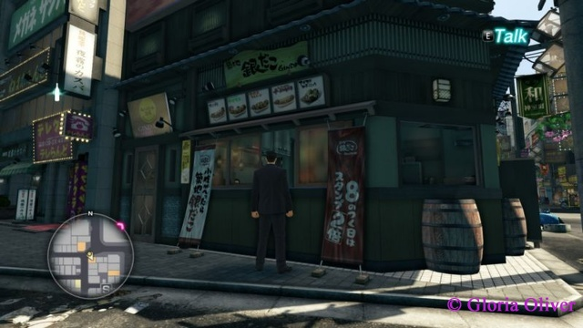 Yakuza 0 - restaurant