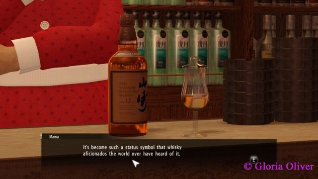 Yakuza 0 - Whiskey