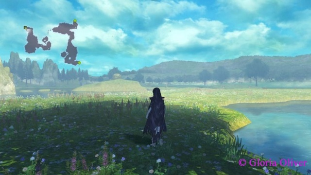 Tales of Berseria - flower field