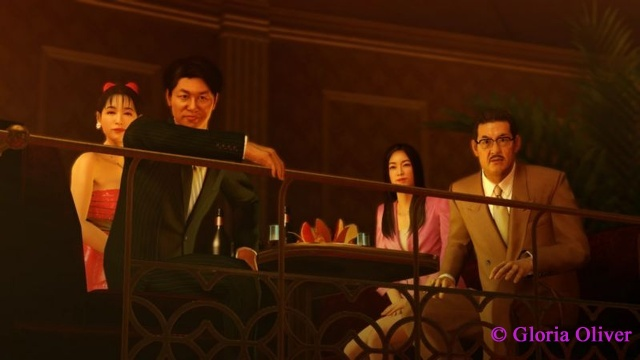 Yakuza 0 - clientele at The Grand