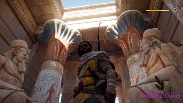 Assassin's Creed Origins - first temple interior