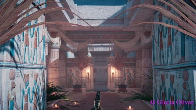 Assassin's Creed Origins - Temple of Amun - upper area