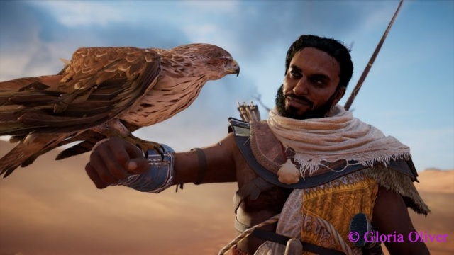 Assassin's Creed Origins - Bayek and Senu