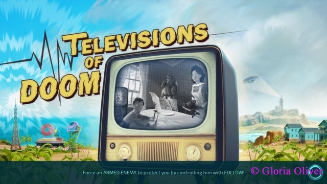 Destroy All Humans - Television of DOOM